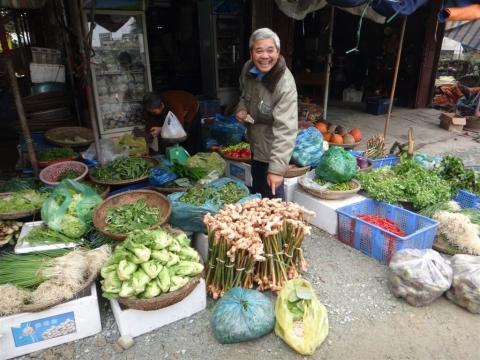 Marche de Dong Ba a Hue