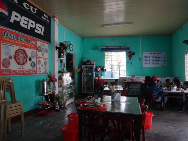 Resto a Hue, Le Banh Bèo ba Cu