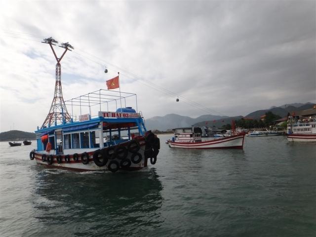 bateaux pour les 4 iles