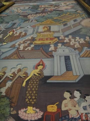 Peintures murales à Wat Pho