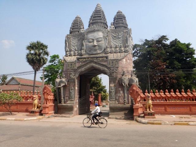 Entree du Wat Kandal