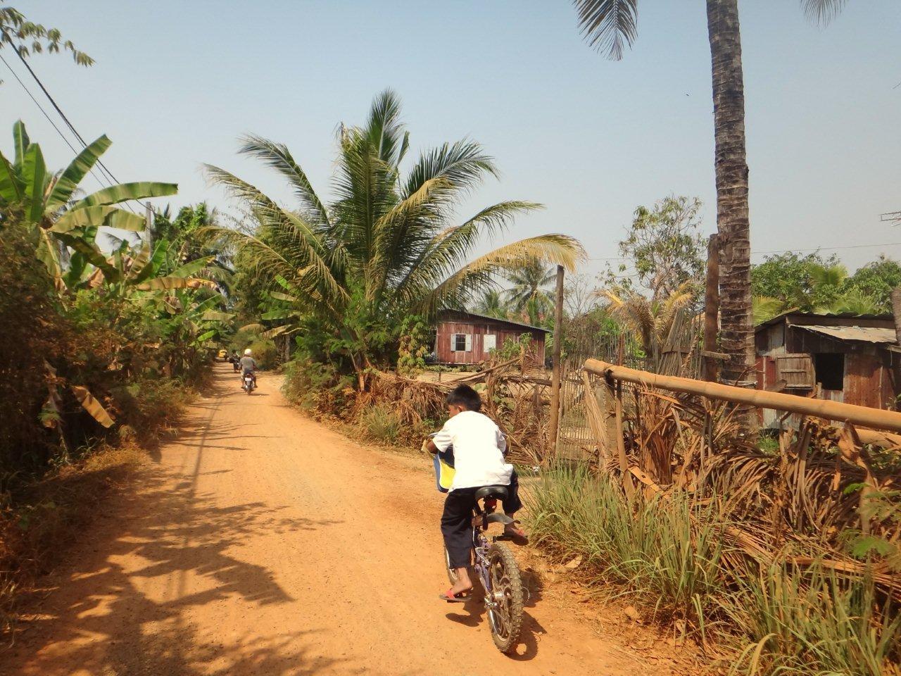 Dans les environs de Battambang