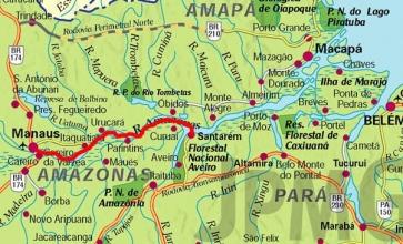 De Manaus à Santarem
