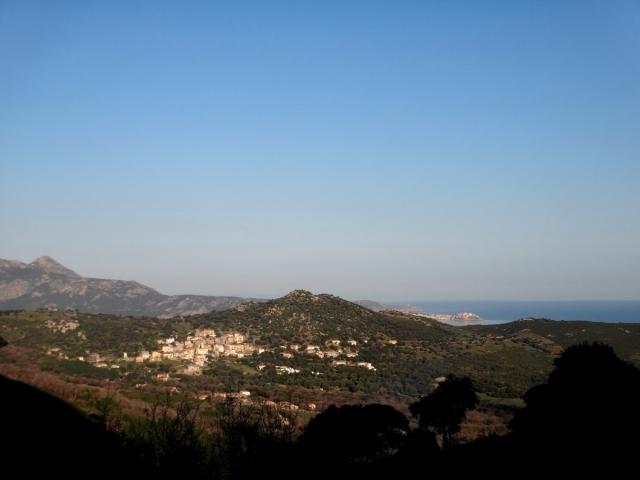 vue sur Calenzana