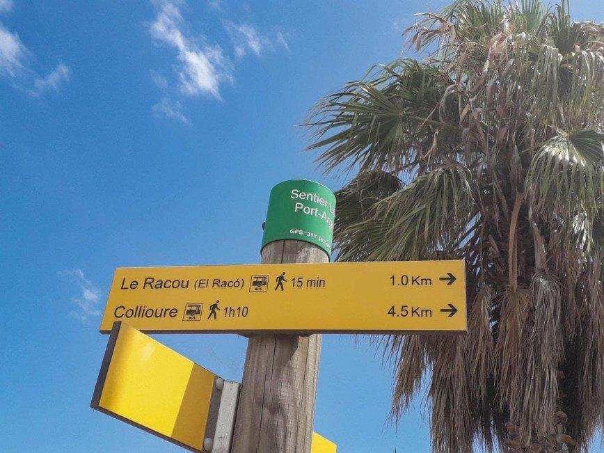 Départ depuis le port d'Argeles