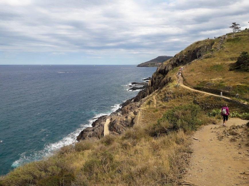 Sentier vers Collioure