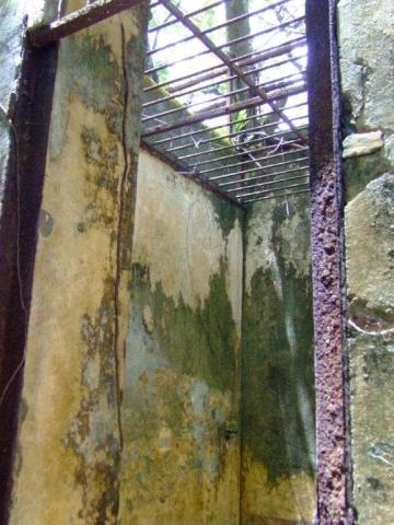 Certaines cellules étaient sans toit pour une meilleur surveillance