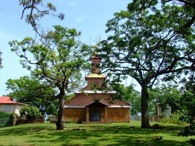 La chapelle de l'île Royale