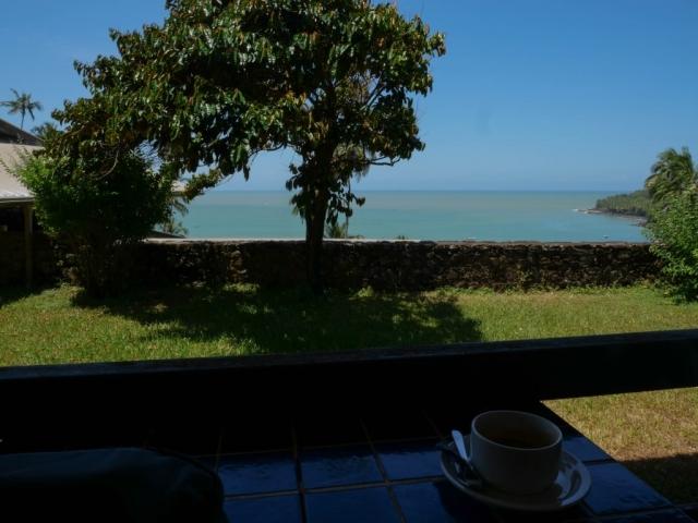 café à l'auberge des iles