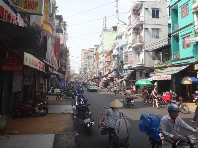 rue du quartier touristique