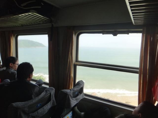 Vue depuis le train vers Da Nang