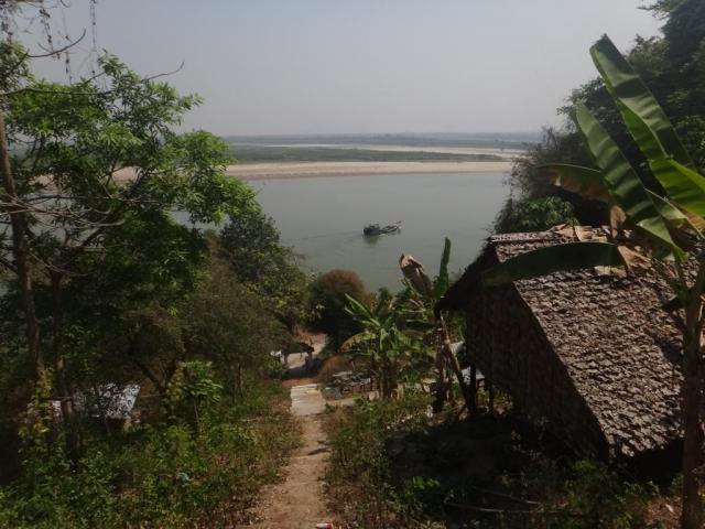 Vue sur la rivière Thanlwin