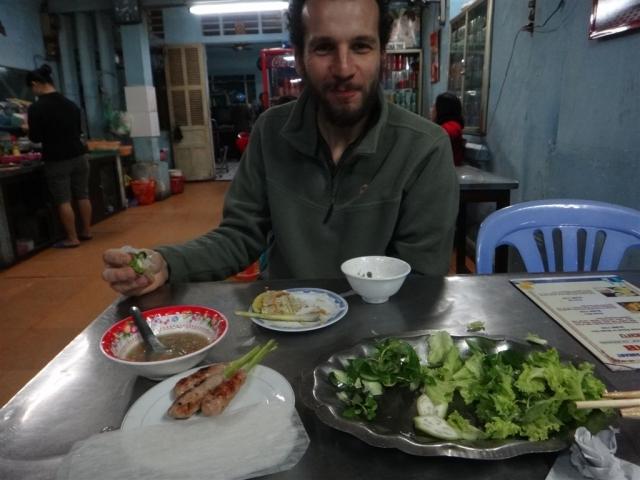 Degustation de Nem lui, Banh Khoai...