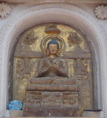 Représentation de Bouddha.