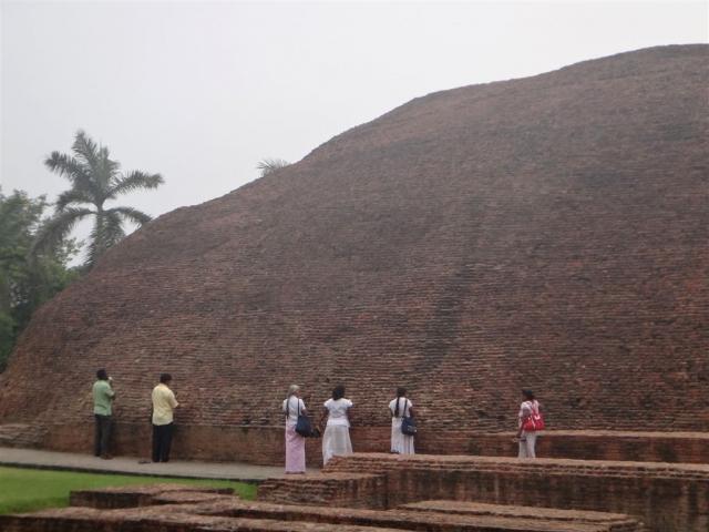 Ramabhar Stupa à Kushinagar.