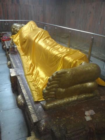 Bouddha couché.