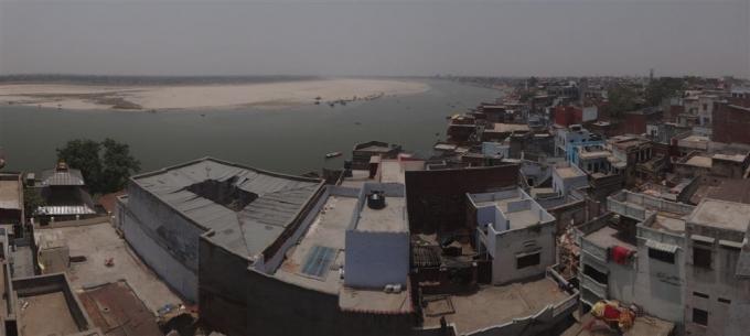 Vue sur la ville de Varanasi