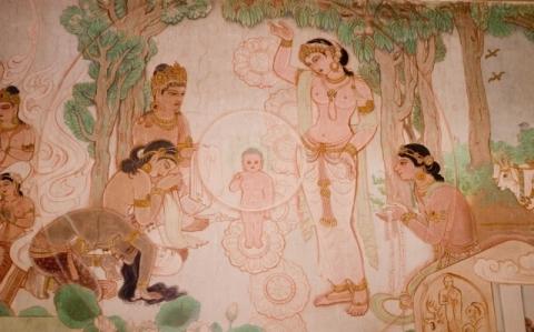 Naissance de Siddhartha