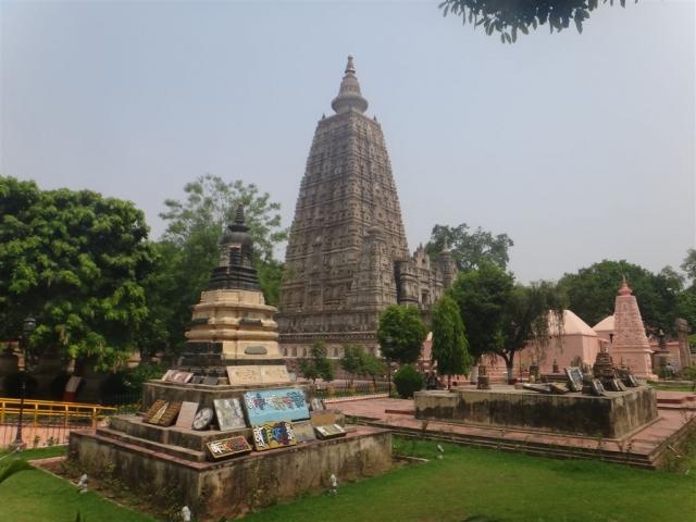 Temple de la Mahabodhi, à Bodhgayâ.