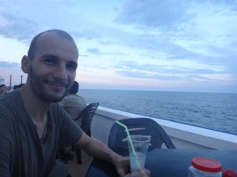 Tranquillou sur la côte d'azur