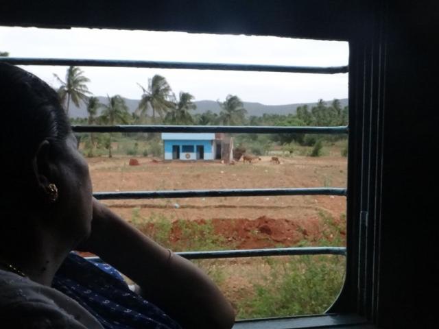 Dans le train vers Madurai