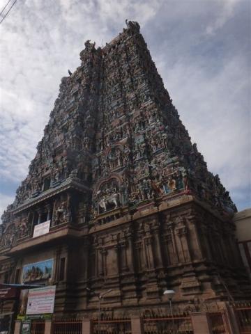 Une des portes d'entrée de la zone du temple.