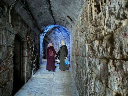 Tunnel piéton - Jérusalem
