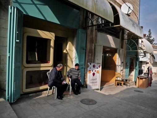 En attendant le client - Jérusalem