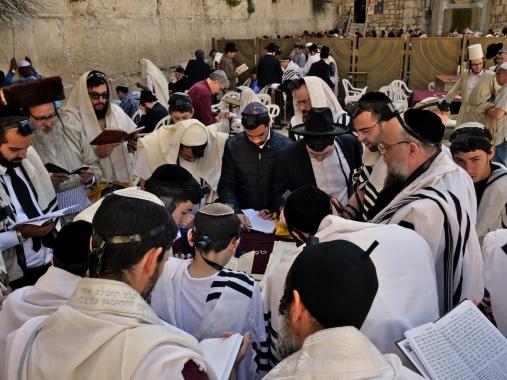 mur des lamentations - Jérusalem