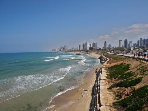 Front de mer à Tel Aviv