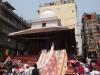 Vendeurs de draps à Katmandou