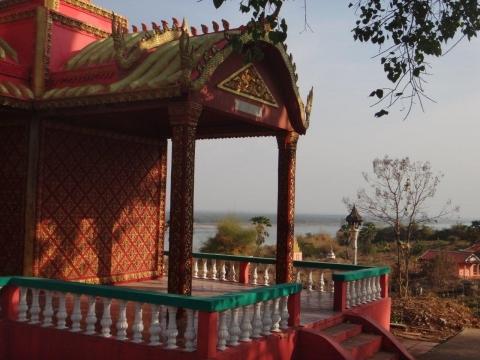 Wat Hanchey à 20km de Kampong Cham