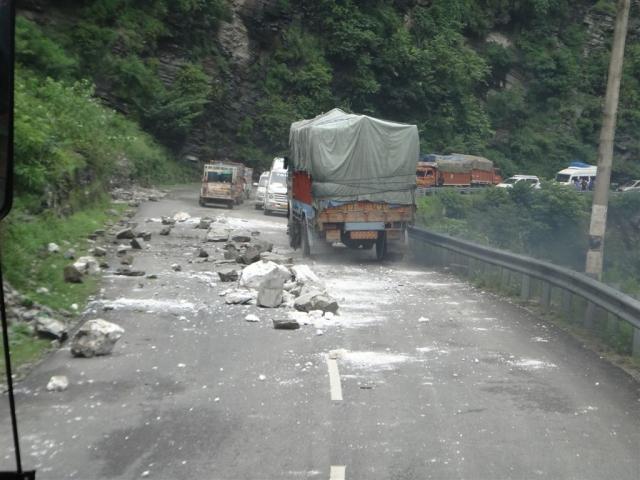 la route reste dangereuse.