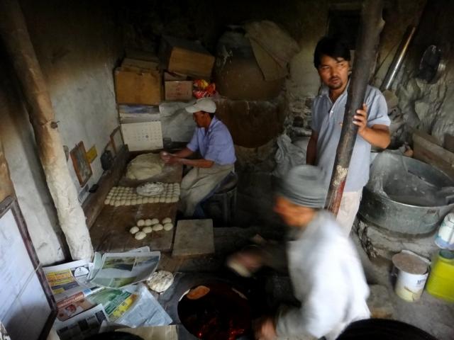 Vendeur de chapati