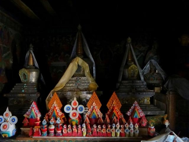 Autel bouddhiste.