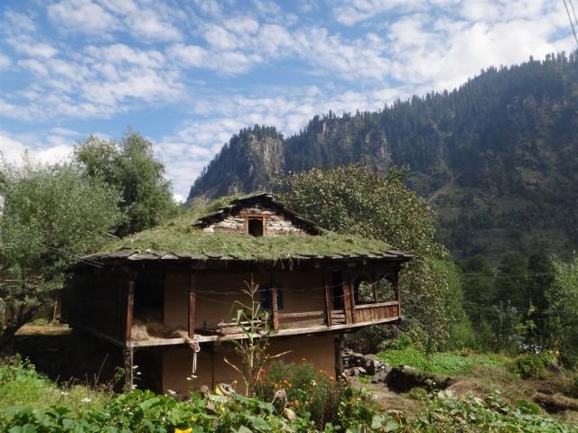Maison traditionnelle à Goshal