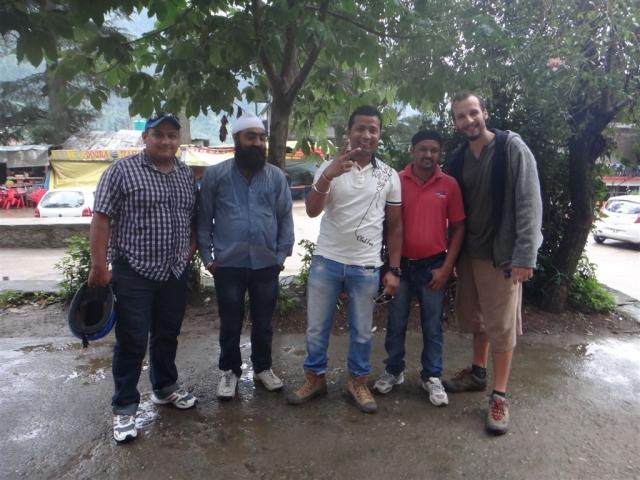 Touristes du Punjab.