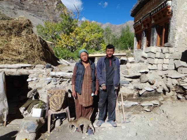 Tashi et sa femme Diskit