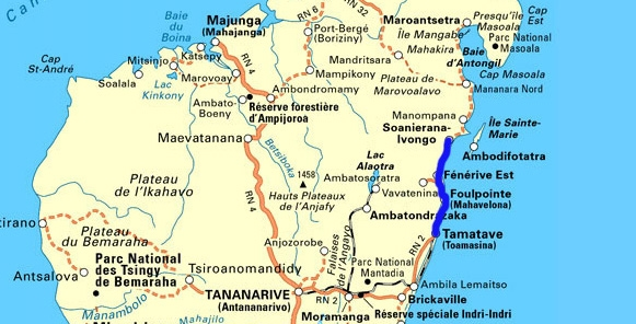 Madagascar carte