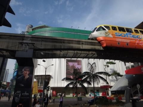 Monorail aerien