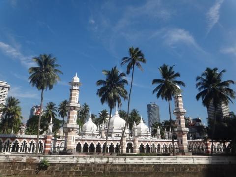 Masjid jamek, la plus vieille mosquées de Kuala Lumpur