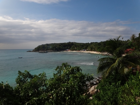 Vue sur Coral Bay
