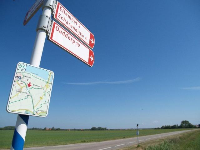 vers Ouddorp situé sur l'île de Goeree-Overflakkee