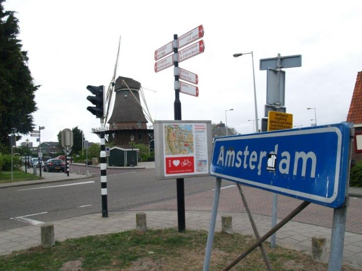 Arrivée à Amsterdam!