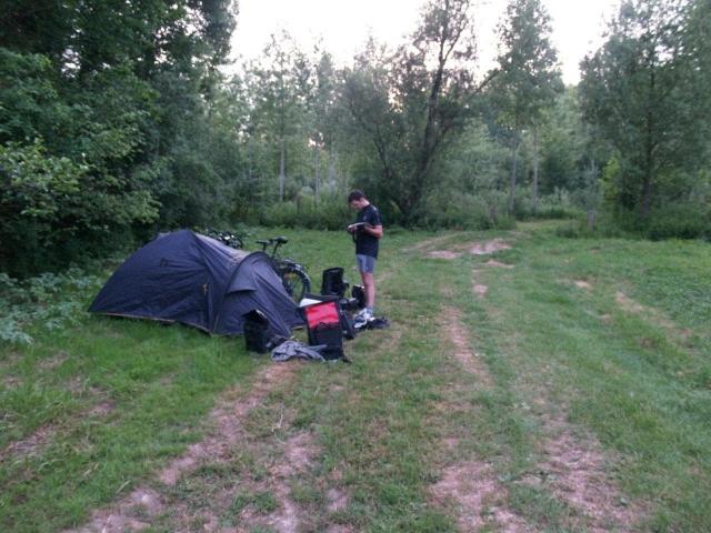 camping sauvage en Picardie