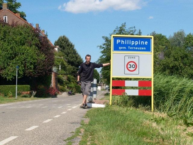 Philippine, avant d'arriver en hollande