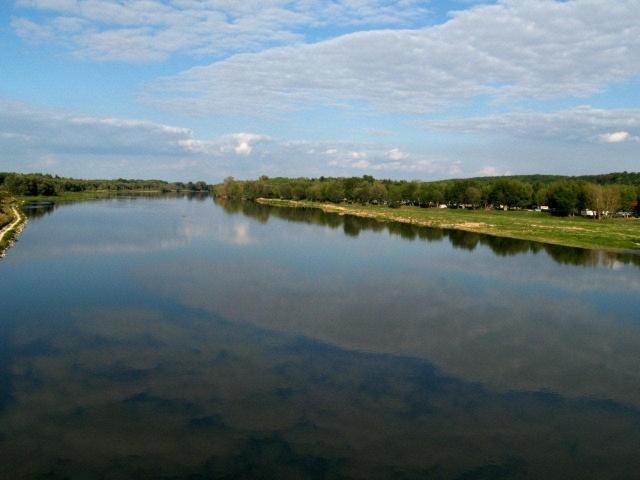 sur les bords de la Loire