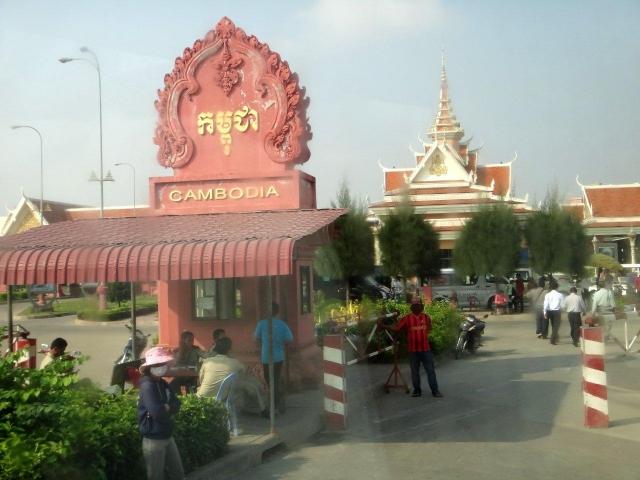 Frontiere Vietnam/Cambodge
