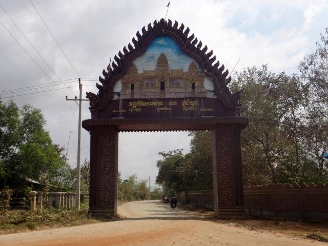 Entree du temple Phnom chisor
