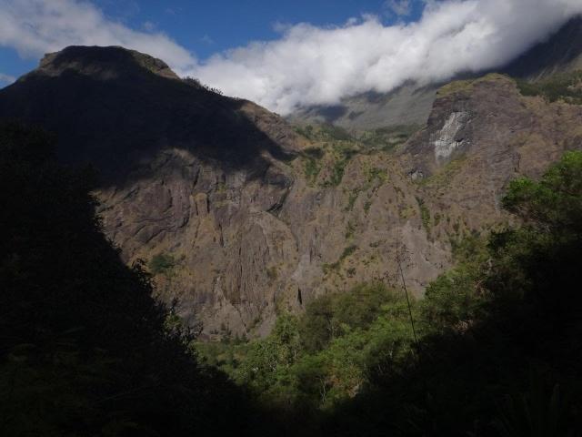 Point de vue sur le Bronchard et le piton roche plate